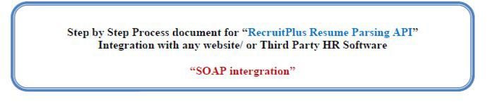 itcons e solutions private limited resume parser web api integration